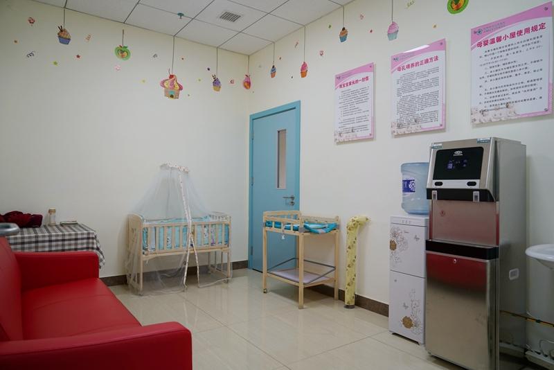 【改善医疗服务我们在行动】搭建母婴温馨小屋